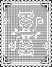 LOVE FILET CROCHET Pattern