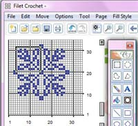 Many Patterns   FREE FILET CROCHET PATTERNS