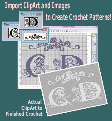 How to Use Filet Crochet Pattern Software