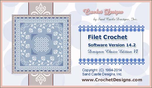 Filet Crochet Software