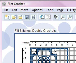 Filet crochet software ccuart