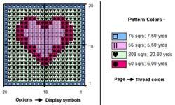 Crochet Pattern Program : Crochet Designs, Filet Crochet Software
